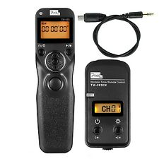 PIXEL TW-283/ S2 Wireless Shutter Remote Release Control With Cable for Sony ...