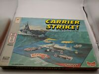 VINTAGE 1977 CARRIER STRIKE Milton Bradley GAME OF NAVAL STRATEGY incomplete
