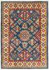 """Vintage Hand-Knotted Carpet 6'9"""" x 9'7"""" Traditional Oriental Wool Area Rug"""
