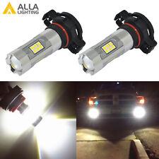 Alla Lighting 3200lm 6000K 27-LED 2504 Fog Light Driving Bulbs Lamps Xenon White