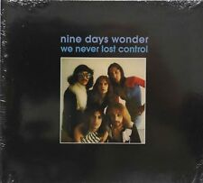 Nine Days Wonder-We Never Lost Control German prog cd digipack remaster