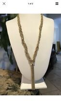 Braided Chain Y-Necklace BAUBLEBAR Gold Tone