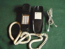Vintage Southwestern Bell Freedom Phone Sleekline Fc2556 Black w/ Line Cord