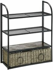 4d Concepts 603120 Windsor Storage Unit With Two Baskets
