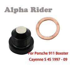 for Porsche Magnetic Oil Drain Sump Plug 996 Carrera 911 Boxster 986 997 Cayman