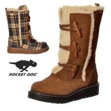 Botas de mujer de nieve color principal marrón de ante