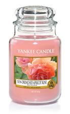 YANKEE CANDLE candela profumata giara grande Sun_Drenched Apricot rose 150 ore