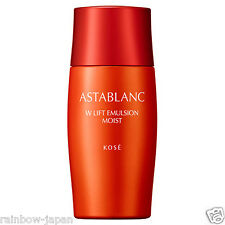 Kose ASTABLANC W Lift Emulsion 100ml Moist Type Skin Care Whitening Milk JAPAN