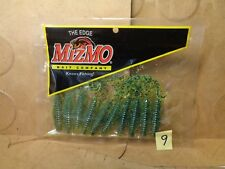 "Mizmo 4"" Grub, Chartreuse Pepper, 10 Count (New)"