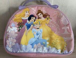 Disney princess lunchbox Lunch Bag zak Pink Zip top