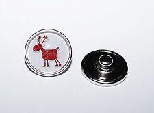 Button Druckknopf +++ AUSWAHL +++ Wechsel für Armband Ring Kette WEIHNACHTSMOTIV