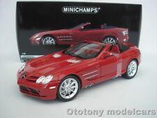 MERCEDES BENZ SLR McLAREN ROADSTER 2007 ROT 1/18 MINICHAMPS 100037130  NEU