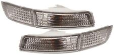 TOYOTA MR2 2 91-99 CRYSTAL CLEAR CHROME FRONT INDICATORS REPEATERS LIGHTS