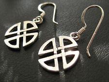 Keltischer Knoten 925'er Silber Ohrhänger Paar Knoten der Unendlichkeit  / OR703