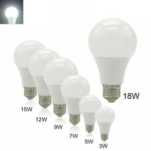 E27 LED Golf Light Bulbs Dimmable SES ES BC Globe Lamp Bright /Cool White MWVF
