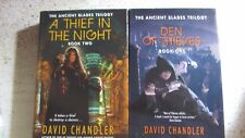 Lot of 2 David Chandler A Thief in the Night  Den of Thieves  Ancient Blades Tri