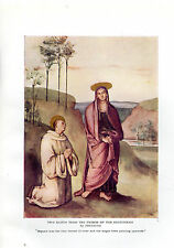 AMY STEEDMAN PLATE - THE NATIVITY BY FILIPPINO LIPPI - ITALIAN ART-1916 KNIGHTS