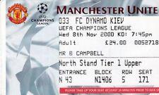 Dynamo Kiev Football European Club Fixtures