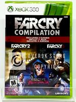 Far Cry Compilation - Xbox 360 - Brand New   Factory Sealed