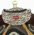 NEW! LEOPARD! Showman Insulated Nylon Saddle Pouch. FREE SHIPPING!