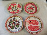Williams Sonoma Plates 4 Salad Tapas Appetizer Plates Cheese Hors D oeuvres NICE