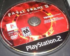 Fatal Frame II: Crimson Butterfly (Sony PlayStation 2) ps2 DISC ONLY TESTED