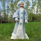 Vintage Snow Maiden New Year's cotton doll Soviet New Year