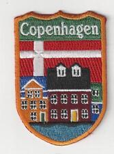 Copenhagen Denmark Souvenir Patch