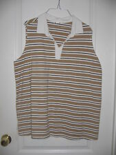 Womens  Size XL Pull Over SleevelessTop