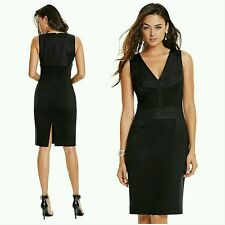 NWT Guess by Marciano black Fayes Woven cocktail Dress size 6
