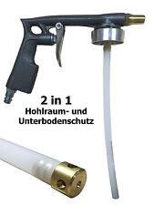Unterbodenschutz Pistole Hohlraumschutz Pistole 2 in 1 mit UBS Düse und Schlauch