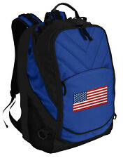 American Flag Backpack Laptop Bags Computer Backpacks TOP QUALITY!