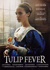 Tulip Fever (2017) A5 Poster - Alicia Vikander, Dane DeHaan, Christoph Waltz