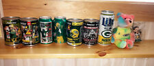 Brett Favre Green Bay Packers Lot 7 Pinnacle Ice Bowl Mountain Dew cans Bears ++
