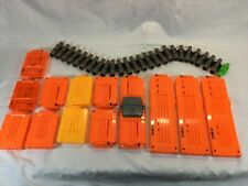 Gently Pre-owned Nerf N Strike 6 &18 Round Ammo Clips & Vulcan 25 Round Belt Lot