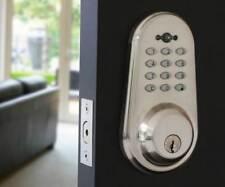 Electronic keyless keypad code door lock deadbolt NOKEYS brand with remote