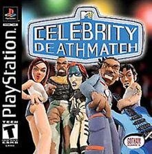 Celebrity Death Match NEW factory sealed black label Playstation 1 PSX PS1