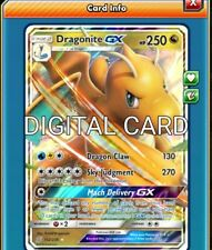 Dragonite GX Pokemon TCG Online PTCGO SENT FAST 152/236 -DIGITAL CARD-
