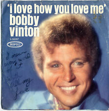 Bobby Vinton – I Love How You Love Me, Little Barefoot Boy (1968 A&M) 5-10397