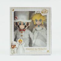Super Mario Odyssey Plush Doll Stuffed Toy Peach & Mario Wedding Style
