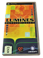 Lumines Puzzle Fusion Sony PSP Game