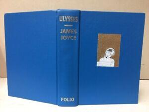 "FOLIO SOCIETY EDITION - ""ULYSSES"" by JAMES JOYCE - MIMMO PALADINO ETCHINGS(1998)"