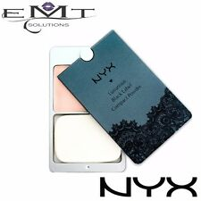NYX Luxurious Black Label Compact Pressed Powder - Warm Natural 07 W Lace Pouch