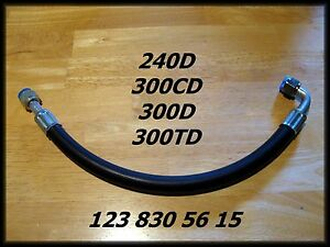 New A/C Hose [fits] Mercedes-Benz 240D 300CD 300D 300TD 1238305615