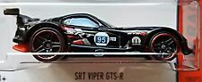 Hot Wheels 2015 HW Race SRT Viper GTS-R Black First Edition Dodge Mopar 1:64