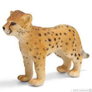 NEW SCHLEICH 14327 African Cheetah Cub - Wild Life - RETIRED