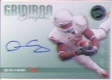 quan cosby rookie rc auto autograph texas longhorns college #/25 2009