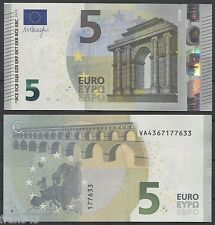 ESPAÑA SPAIN 5 Euros 2013  SIGNATURE DRAGHI    SC / UNC