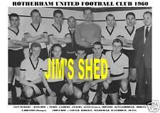 ROTHERHAM UNITED F.C.TEAM PRINT 1960 (IRONSIDE/SAWYER)