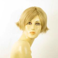 perruque femme 100% cheveux naturel courte blonde ref GABRIELLE 22